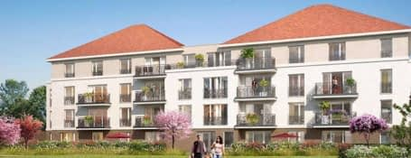 Jouy-le-Moutier quartier Eguerets-Bruzacques