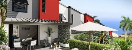 Les Avirons La Réunion quartier résidentiel