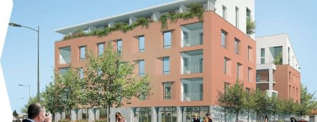 Miramas centre-ville médiathèque