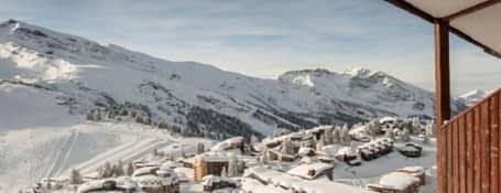 Morzine en plein cœur de la station de ski Avoriaz