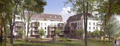Strasbourg quartier Neudorf-Musau