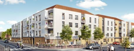 Trappes rue Paul Vaillant Couturier
