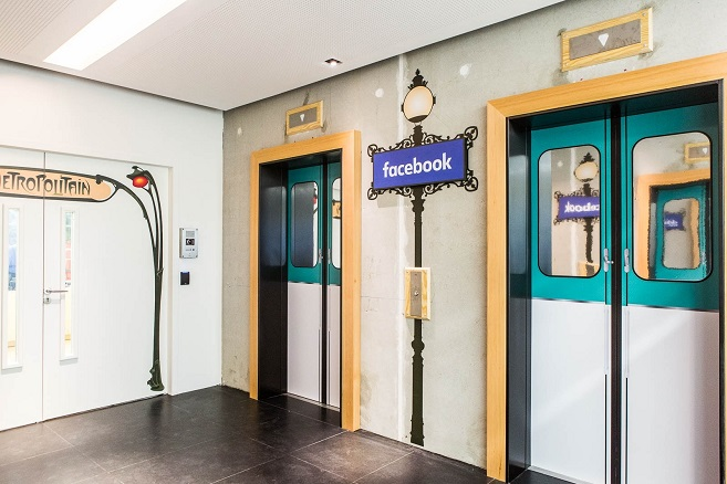Visite privée des bureaux de facebook france médicis immobilier neuf